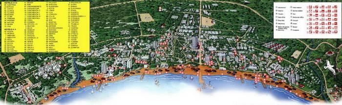 Региона и курорты Болгарии - Солнечный берег