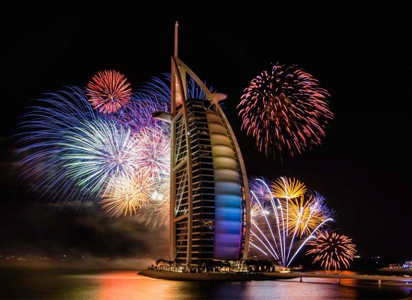 Новый Год и Рождество в ОАЭ!
