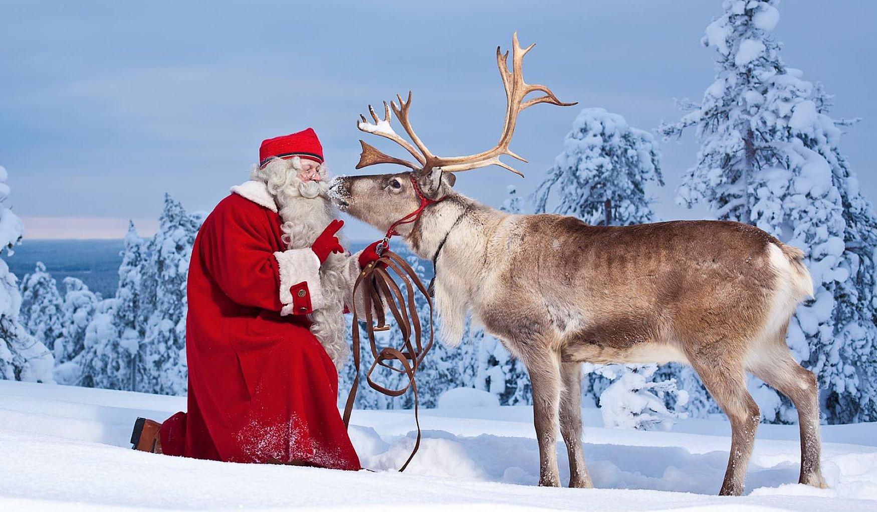 Новый год и Рождество в снежной Финляндии